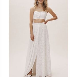 BHLDN Fame and Partners Skirt Set